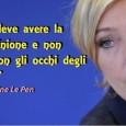 """Le Pen: Via USA dall'Europa Le Pen: """"l'Europa deve avere la propria opinione e non guardare con gli occhi degli Stati Uniti"""" Marine Le Pen, presidente del Front National, ha […]"""