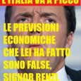 L'italia delle mezze verità LA VERITA' SUI CONTI DELL'ITALIA? ECCOLA: SOMIGLIANO A QUELLI DELLA GRECIA E RENZI FA IL LAVORO SPORCO DELLA TROIKA lunedì 2 giugno 2014 La realtà, si […]